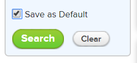 Save As Default